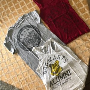 Harry Potter T-shirt and tank tops